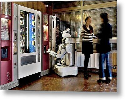 Pr2 Robot Research Metal Print