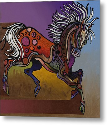 Prancer Metal Print by Bob Coonts