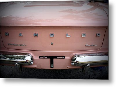 Metal Print featuring the photograph Pretty In Pink by Laurie Perry