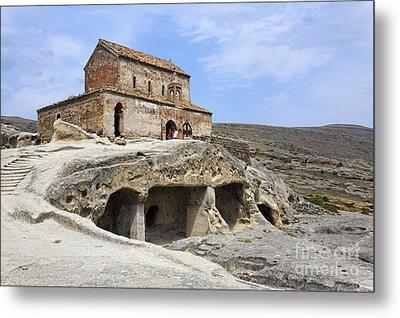 Prince's Church In Uplistsikhe Gori Georgia  Metal Print by Robert Preston