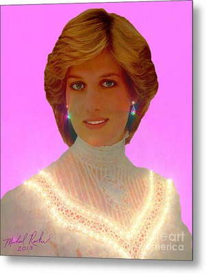 Princess Diana Metal Print by Michael Rucker