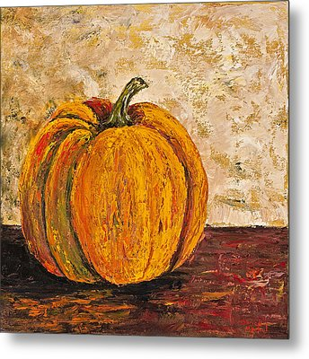 Pumpkin Metal Print by Darice Machel McGuire
