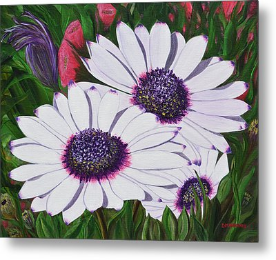 Purple Punch Metal Print by Donna  Manaraze