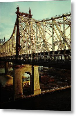 Queensboro Bridge Metal Print by Natasha Marco