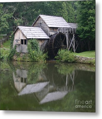 Metal Print featuring the photograph Quiet Reflection by ELDavis Photography