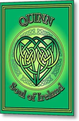 Quinn Soul Of Ireland Metal Print