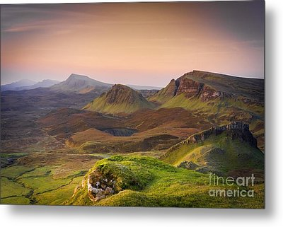 Quiraing Sunrise Metal Print