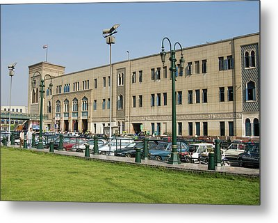 Railway Station Of Mahattat Ramses Metal Print by Nico Tondini