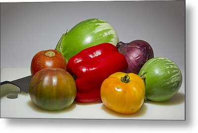 Metal Print featuring the photograph Ratatouille  by Ricky L Jones