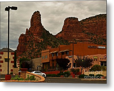 Red Rock Country, Sedona Metal Print by Beverly Guilliams