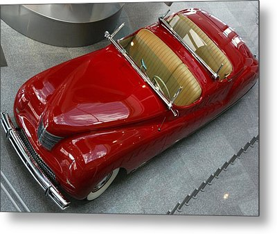 Metal Print featuring the photograph Red Rocket by Bill Woodstock