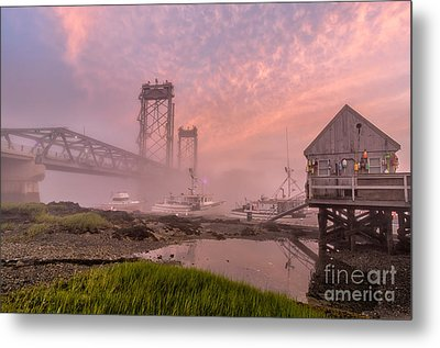 Red Sky At Night Metal Print by Scott Thorp