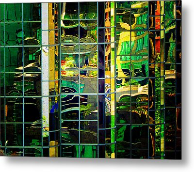 Reflection 6 Metal Print by Laurie Tsemak
