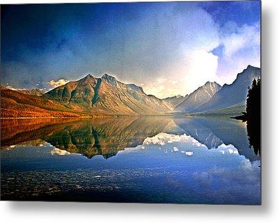 Reflections On Lake Mcdonald Metal Print