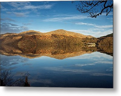 Reflections On Loch Lomond Metal Print