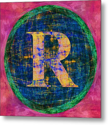 Registered Trademark Symbol Metal Print by Gregory Scott