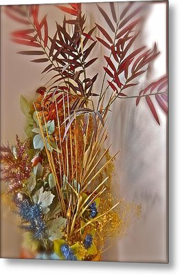 Remnants Of Summer Metal Print