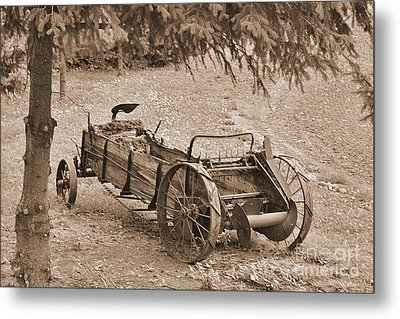 Retired But Ready Metal Print