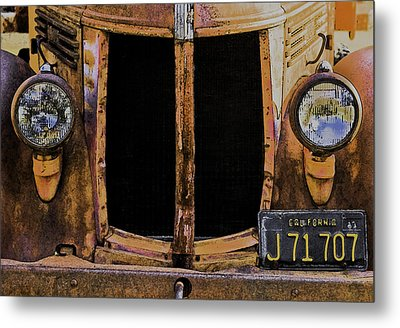 Retired Metal Print by Sherri Meyer