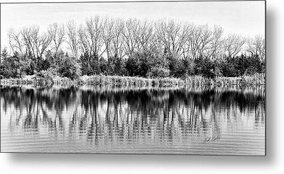 Metal Print featuring the photograph Rippled Reflection by Bill Kesler