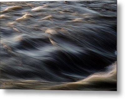 River Flow Metal Print by Bob Orsillo