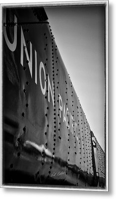 Riveted Metal Print