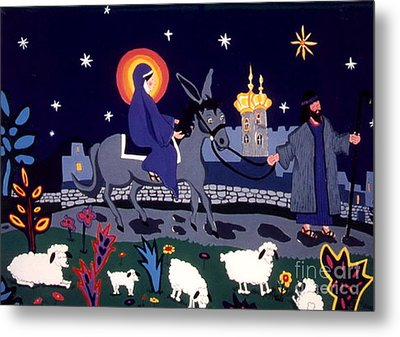 Road To Bethlehem Metal Print