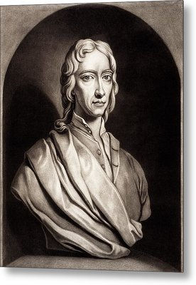 Robert Boyle Metal Print by Gregory Tobias/chemical Heritage Foundation