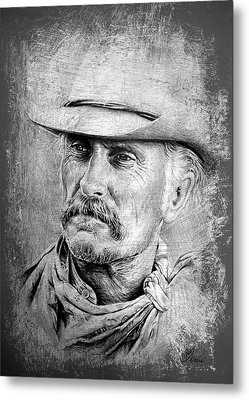 Robert Duvall Metal Print by Andrew Read