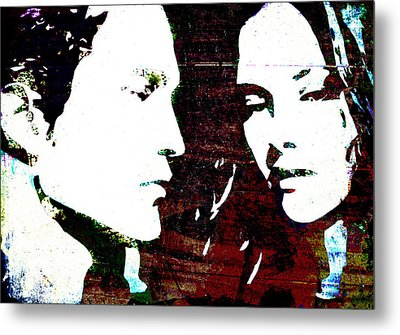 Robsten Metal Print by Svelby Art