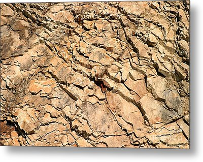 Metal Print featuring the photograph Rock Wall by Henrik Lehnerer