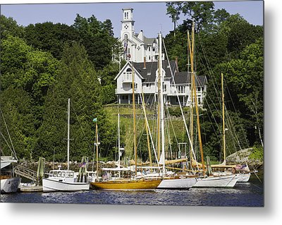 Rockport On The Coast Of Maine Metal Print by Keith Webber Jr