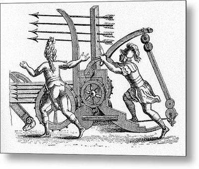 Roman Ballista Metal Print by Cci Archives