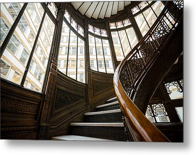 Rookery Building Up The Oriel Staircase Metal Print