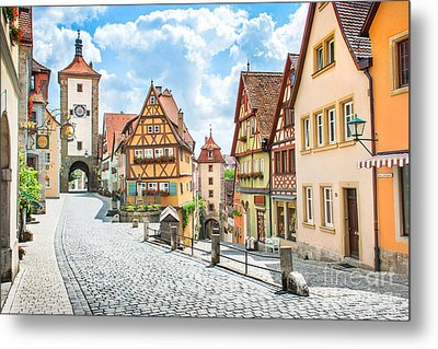 Rothenburg Ob Der Tauber Metal Print