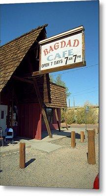 Route 66 - Bagdad Cafe Metal Print by Frank Romeo