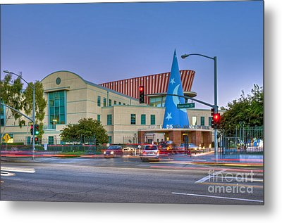 Roy E. Disney Animation Building In Burbank Ca. Metal Print