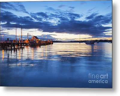 Russell Bay Of Islands New Zealand Metal Print by Colin and Linda McKie