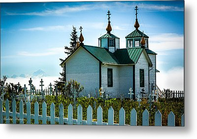 Russian Orthodox Church Metal Print