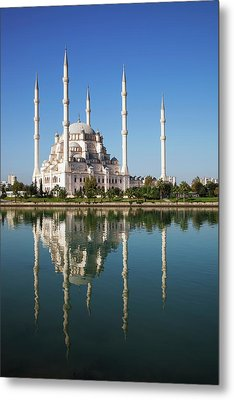 Sabanci Mosque  Adana, Turkey Metal Print by Reynold Mainse
