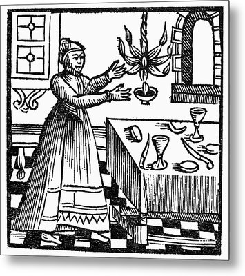Sabbath Preparations, 1663 Metal Print