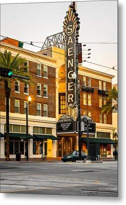Saenger Theatre New Orleans Paint 2 Metal Print by Steve Harrington