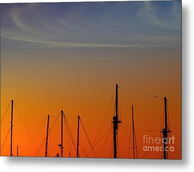 Sailing Boats Metal Print by Stelios Kleanthous