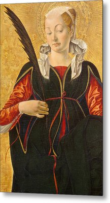 Saint Lucy Metal Print by Francesco del Cossa