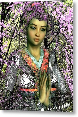 Saint Lucy Yi Zhenmei Of China Metal Print