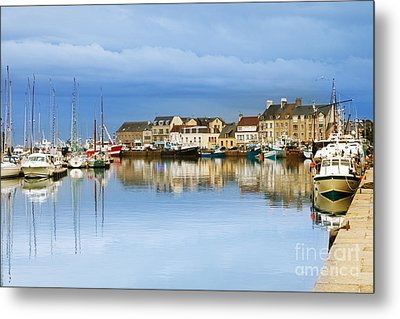 Saint-vaast-la-hougue Normandy France Metal Print by Colin and Linda McKie