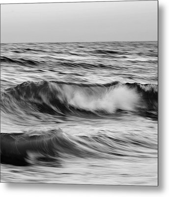 Salt Life Square Metal Print by Laura Fasulo