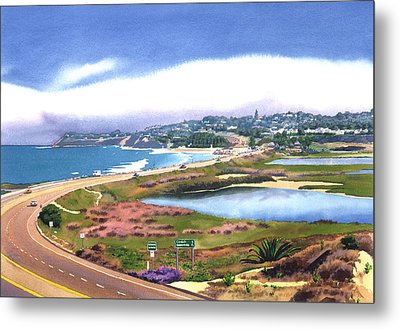 San Elijo And Hwy 101 Metal Print