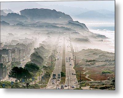 San Francisco Metal Print by David Yu