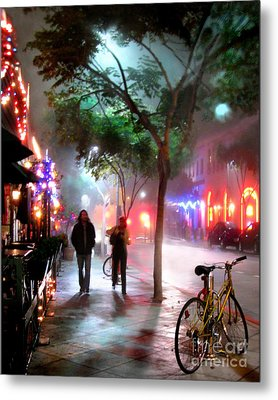 Metal Print featuring the photograph Santa Monica Secrets by Jennie Breeze